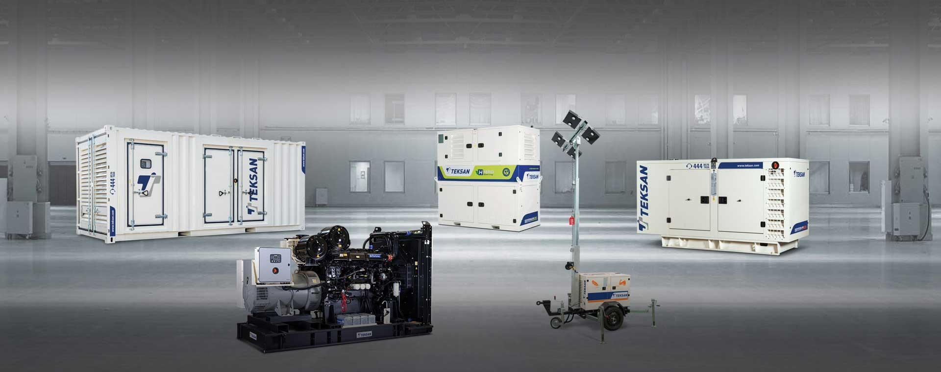 main components of a generator set | generators | diesel gensets | hybrid  generator | teksan generator