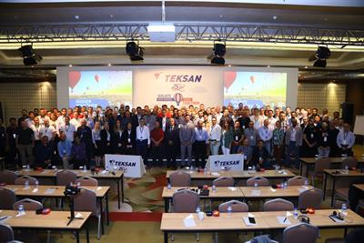 TEKSAN celebrated its 25th year with its commercial partners in Cappadocia