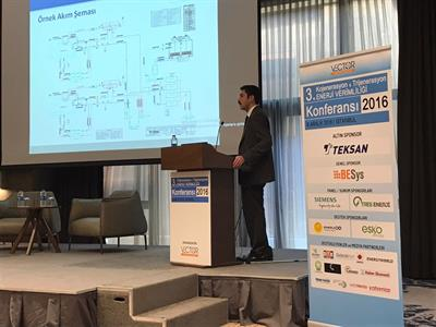 "Teksan Generator is the Gold Sponsor of ""Conference on Energy Efficiency with Cogeneration - Trigeneration"""