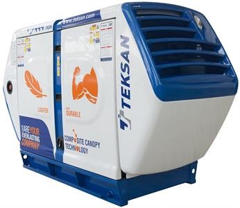 Teksan Launched Its New Composite Canopy Solution
