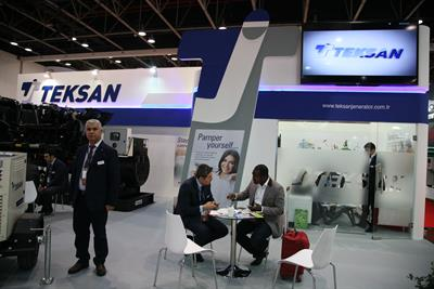 Teksan Generator Has Become The Gold Sponsor For The Middle East Electricity Exhibition