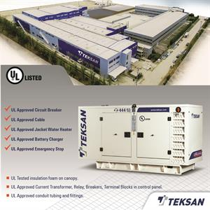 Teksan Has Been Awarded With UL